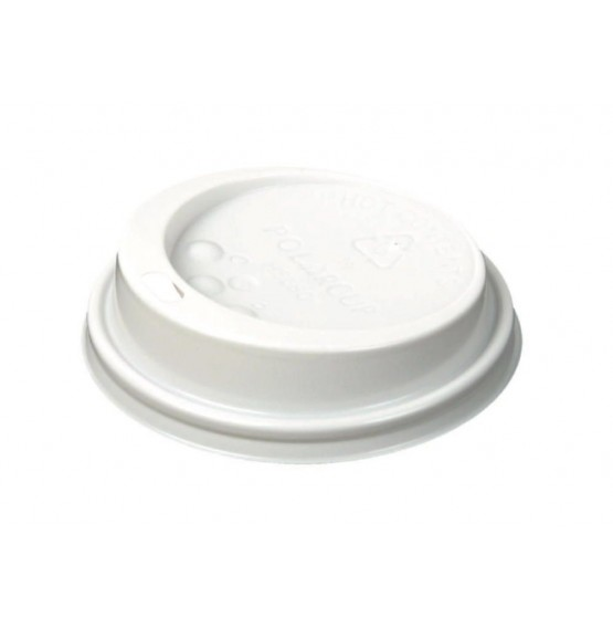 Hot Cup Sip Lids White
