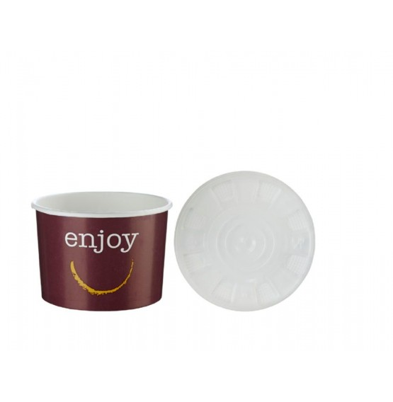 Enjoy Mid Food Container & Lid