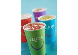 Enjoy Paper Cold Cup (assorted colours)