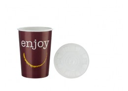 Enjoy Tall Food Container & Lid
