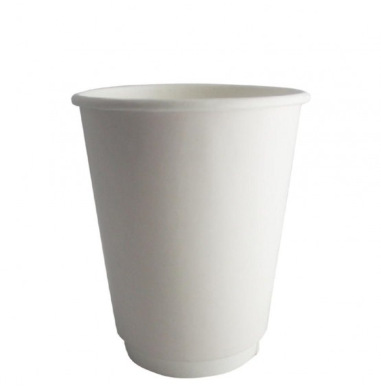 Double Wall White Hot Paper Cup