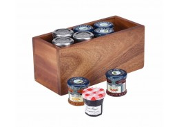Acacia Wood Table Caddy