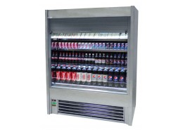 Mirror Finish Stainless Steel Multideck With Lockable Shutter