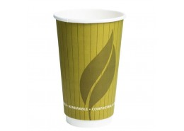 Compostable Double Wall Hot Drink Cup