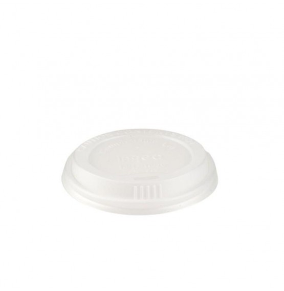 Compostable PLA Domed Lid