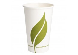 Compostable Single Wall Paper Hot Drink Cup