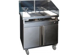 2.7kW +750w Mobile Crepe Station
