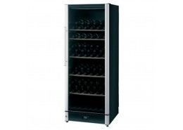 86 Bottle Wine Cooler Black Finish