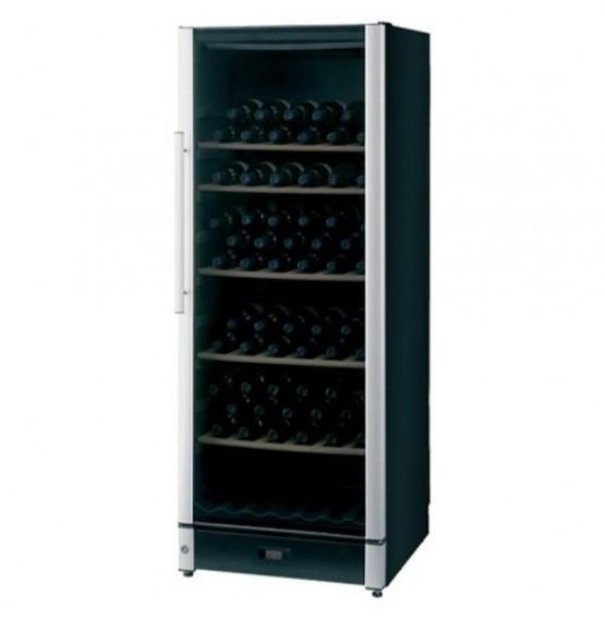 86 Bottle Wine Cooler Black Finish