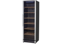 106 Bottle Wine Cooler Black Finish