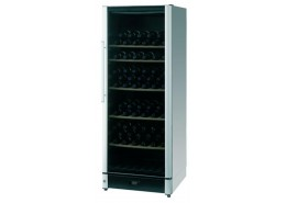 106 Bottle Wine Cooler Silver Finish
