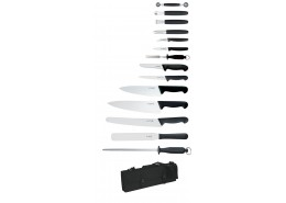Giesser 14 Piece Knife Set & Case