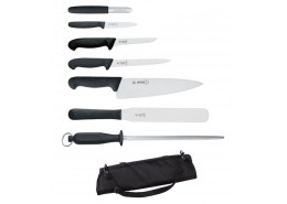 Giesser 7 Piece Knife Set & Case