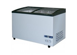 309L Curved Glass Display Chest Freezer