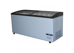 480L Curved Glass Display Chest Freezer