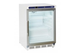 129L White Undercounter Display Refrigerator