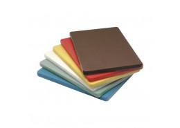 "Polyethylene 1/2"" High Density Chopping Board Brown"