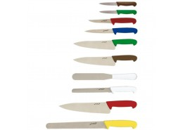 Colour Coded Knife Set & Case (10 Piece)