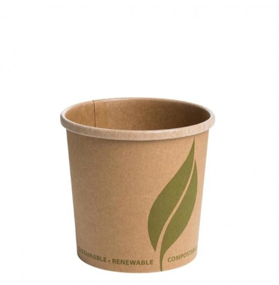 Kraft Brown Food Container