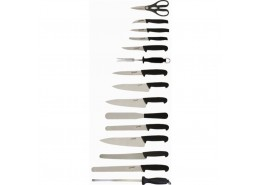 Deluxe Knife Set & Case (15 Piece)