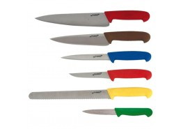 Knife Set & Wallet Colour Coded (6 piece)