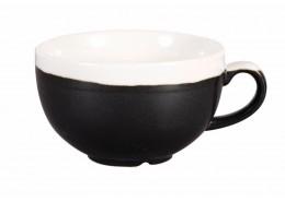 Monochrome Onyx Black Cappuccino Cup