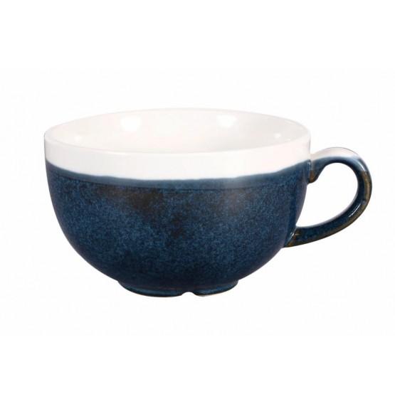 Monochrome Sapphire Blue Cappuccino Cup
