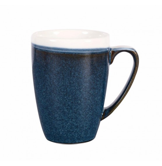 Monochrome Sapphire Blue Mug
