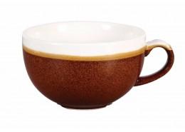 Monochrome Cinnamon Brown Cappuccino Cup