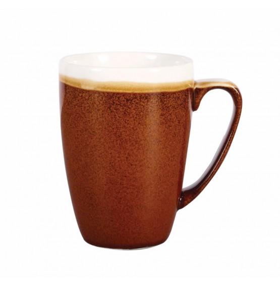 Monochrome Cinnamon Brown Mug