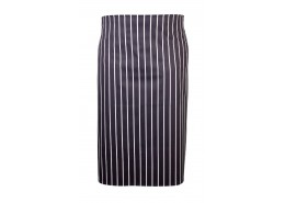 Butchers Stripe Waist Apron Navy