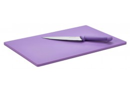 Low Density Chopping Board - Purple Allergen