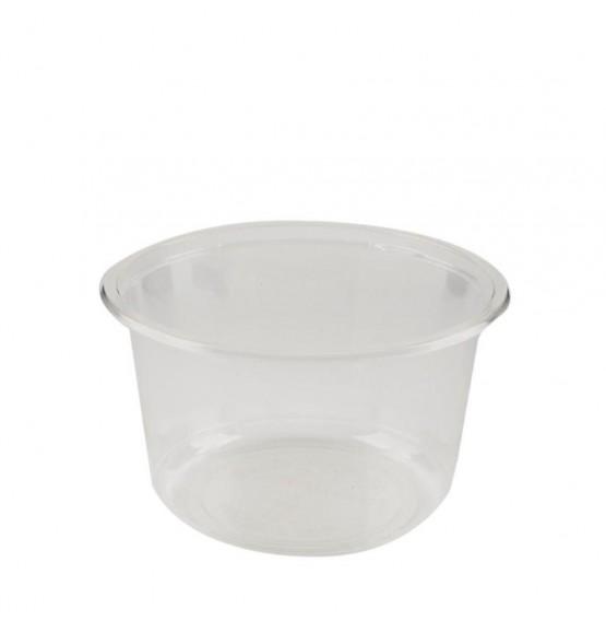PLA Clear Salad Bowl