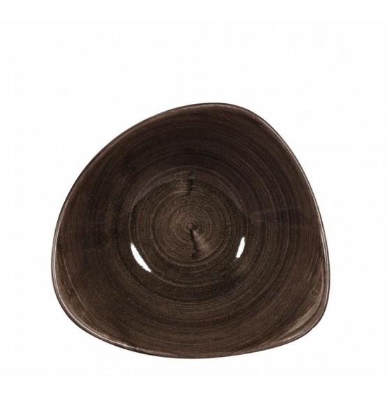 Patina Iron Black Triangle Bowl