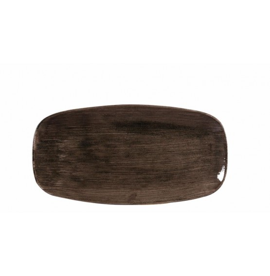 Patina Iron Black Chefs' Oblong Plate