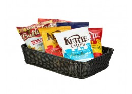 Polywicker Display Basket Black