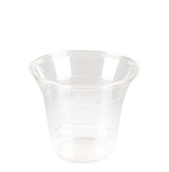 PLA Squat Clear Cold Drink Cup