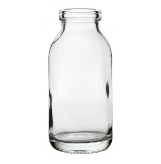 Mini Glass Milk Bottle