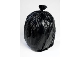 20kg Extra Heavy Duty Black Sack