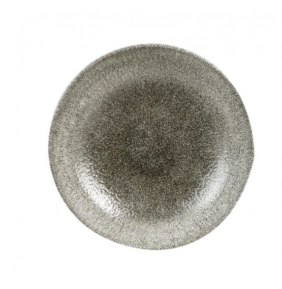 Raku Quartz Black Coupe Bowl