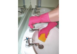Rubber Gloves Pink