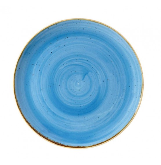 Stonecast Cornflower Blue Large Coupe Plate