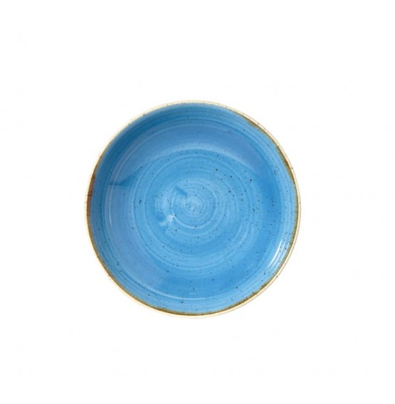 Stonecast Cornflower Blue Coupe Bowl
