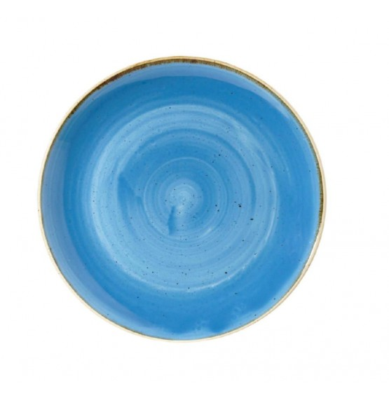 Stonecast Cornflower Blue Large Coupe Bowl