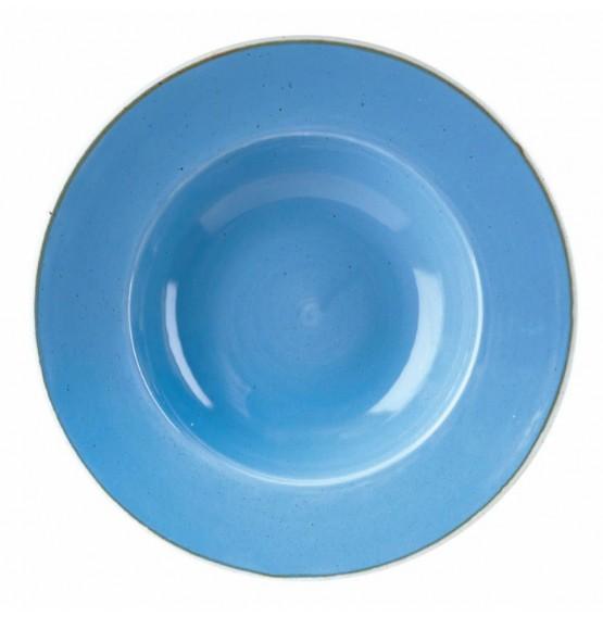 Stonecast Cornflower Blue Wide Rim Bowl
