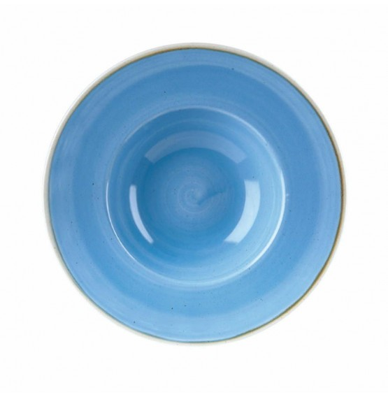 Stonecast Cornflower Blue Wide Rim Bowl
