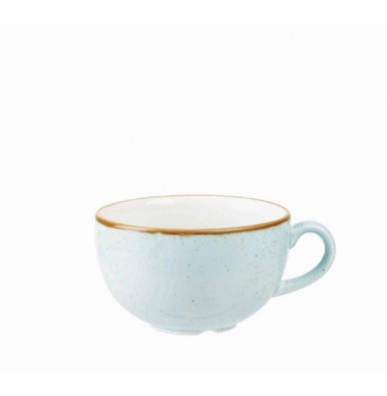 Stonecast Duck Egg Blue Cappuccino Cup