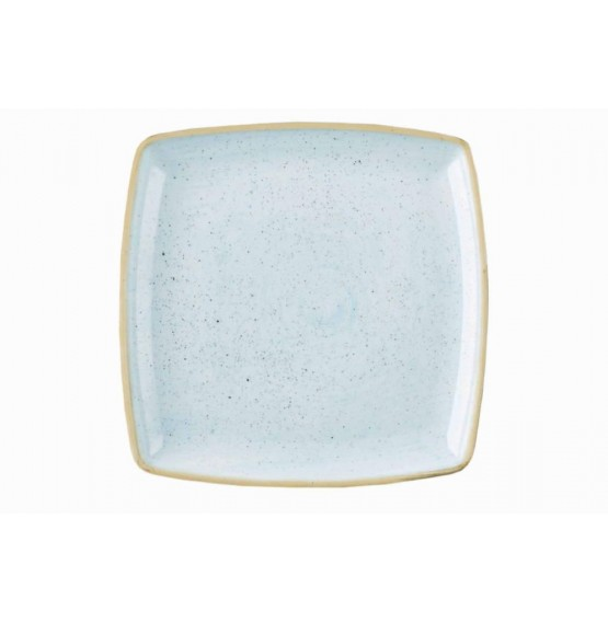 Stonecast Duck Egg Blue Deep Square Plate