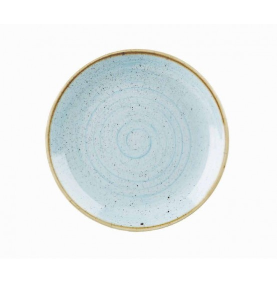 Stonecast Duck Egg Blue Coupe Plate