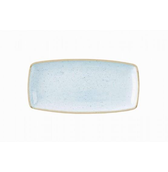 Stonecast Duck Egg Blue Oblong Plate